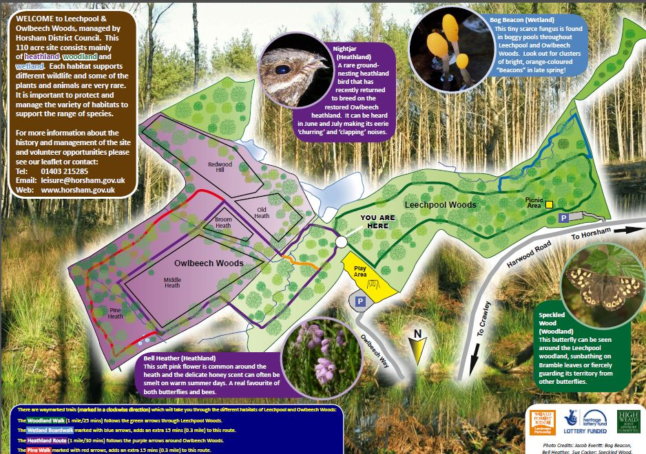 Leechpool And Owlbeech Woods Car Park Horsham