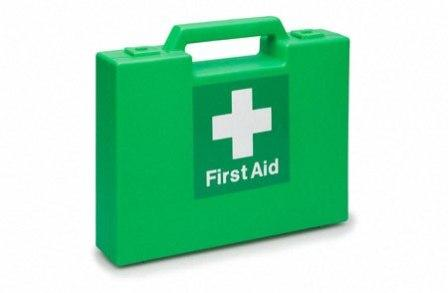 First aid box graphic - health & safety